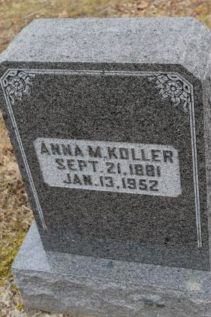 KOLLER, ANNA M. - Lee County, Iowa   ANNA M. KOLLER
