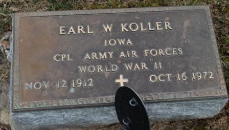 KOLLER, EARL W. - Lee County, Iowa | EARL W. KOLLER