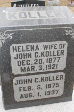 KOLLER, JOHN C. - Lee County, Iowa | JOHN C. KOLLER