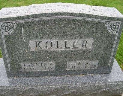 KOLLER, W. A. - Lee County, Iowa | W. A. KOLLER