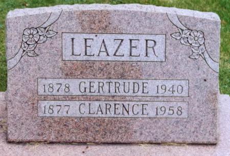 LEAZER, CLARENCE - Lee County, Iowa | CLARENCE LEAZER