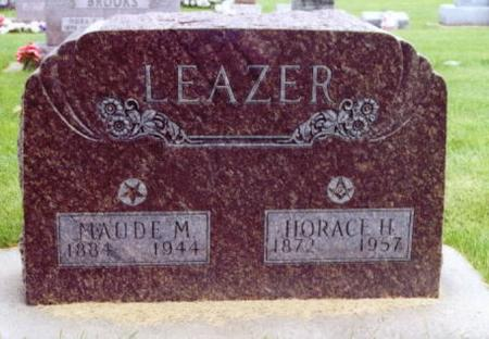 HARDESTY TROBAUGH LEAZER, MAUDE MAY - Lee County, Iowa | MAUDE MAY HARDESTY TROBAUGH LEAZER