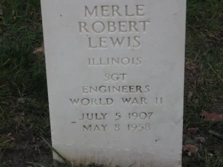 LEWIS, MERLE  ROBERT - Lee County, Iowa | MERLE  ROBERT LEWIS