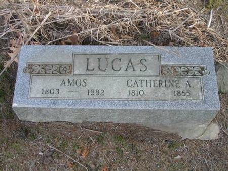 LUCAS, AMOS & CATHERINE A. - Lee County, Iowa | AMOS & CATHERINE A. LUCAS