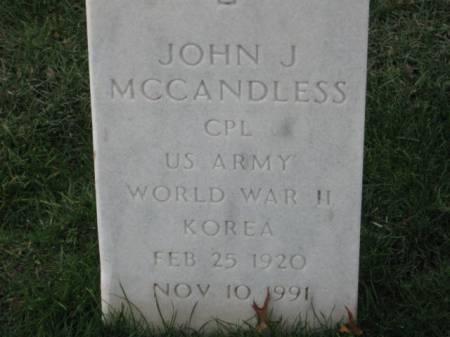 MCCANDLESS, JOHN  J. - Lee County, Iowa | JOHN  J. MCCANDLESS