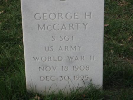 MCCARTY, GEORGE  H. - Lee County, Iowa | GEORGE  H. MCCARTY
