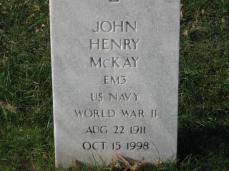 MCKAY, JOHN HENRY - Lee County, Iowa | JOHN HENRY MCKAY