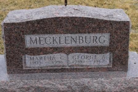 MECKLENBURG, MARTHA C. - Lee County, Iowa | MARTHA C. MECKLENBURG