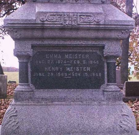 MEISTER, HENRY - Lee County, Iowa | HENRY MEISTER