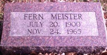 MEISTER, FERN - Lee County, Iowa | FERN MEISTER