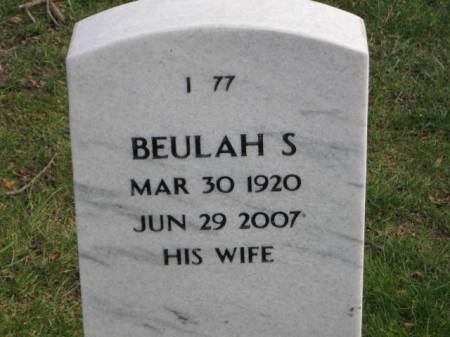 MERRYMAN, BEULAH   S. - Lee County, Iowa | BEULAH   S. MERRYMAN