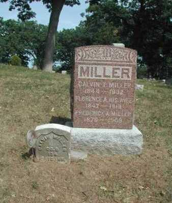 MILLER, FLORENCE A. - Lee County, Iowa | FLORENCE A. MILLER