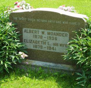 MOANDER, ALBERT W. - Lee County, Iowa | ALBERT W. MOANDER