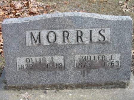 MORRIS, OLLIE J. & MILLER J. - Lee County, Iowa | OLLIE J. & MILLER J. MORRIS