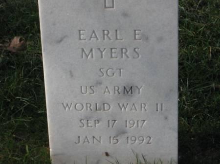 MYERS, EARL  E. - Lee County, Iowa | EARL  E. MYERS