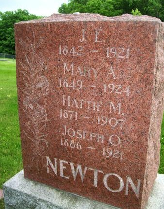 ANDERSON NEWTON, MARY A. - Lee County, Iowa | MARY A. ANDERSON NEWTON