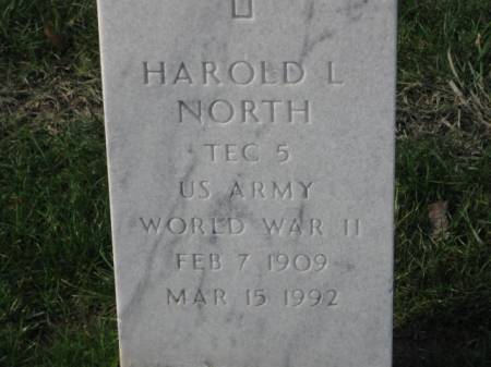 NORTH, HAROLD  L. - Lee County, Iowa   HAROLD  L. NORTH
