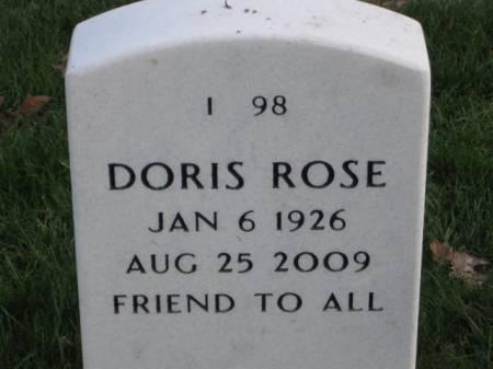NYE, DORIS   ROSE - Lee County, Iowa   DORIS   ROSE NYE