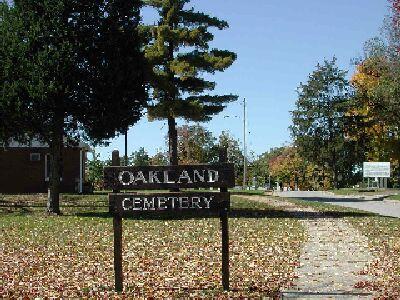 OAKLAND (KEOKUK), CEMETERY - Lee County, Iowa   CEMETERY OAKLAND (KEOKUK)