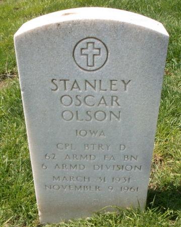 OLSON, STANLEY OSCAR - Lee County, Iowa | STANLEY OSCAR OLSON