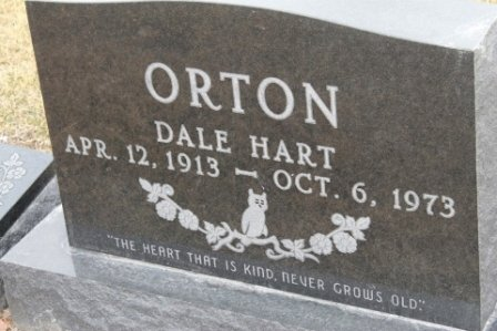ORTON, DALE HART - Lee County, Iowa   DALE HART ORTON