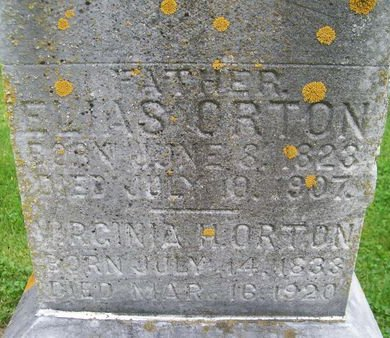 ORTON, VIRGINIA H. - Lee County, Iowa | VIRGINIA H. ORTON