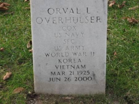 OVERHULSER, ORVAL  L. - Lee County, Iowa   ORVAL  L. OVERHULSER