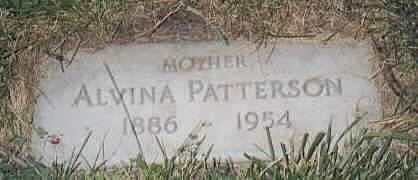PATTERSON, ALVINA - Lee County, Iowa | ALVINA PATTERSON