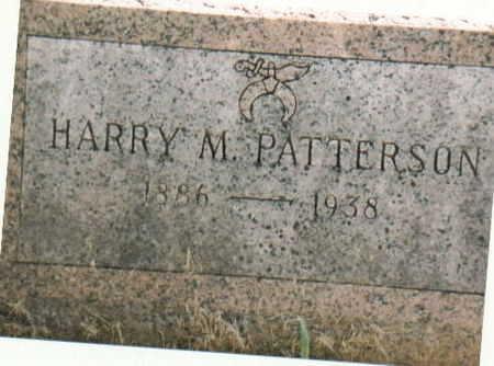 PATTERSON, HARRY M - Lee County, Iowa | HARRY M PATTERSON