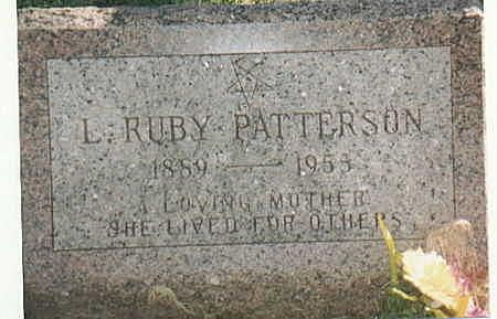 IRELAND PATTERSON, L RUBY - Lee County, Iowa | L RUBY IRELAND PATTERSON