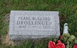 PEARL BULLARD DROLLINGER, PEARL BULLARD DROLLINGER - Lee County, Iowa | PEARL BULLARD DROLLINGER PEARL BULLARD DROLLINGER