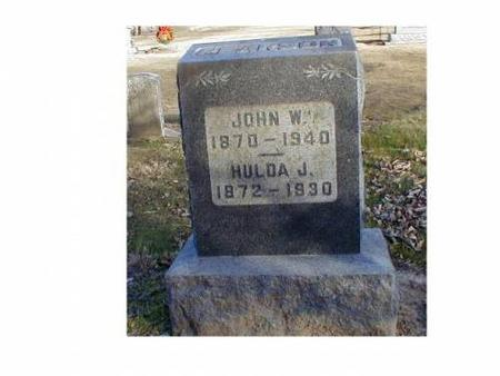 PEARSON, JOHN W., HULDA J. - Lee County, Iowa | JOHN W., HULDA J. PEARSON