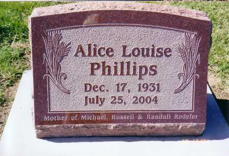 PHILLIPS, LOUISE - Lee County, Iowa | LOUISE PHILLIPS