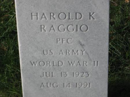 RAGGIO, HAROLD  K. - Lee County, Iowa   HAROLD  K. RAGGIO