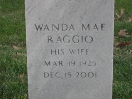 RAGGIO, WANDA  MAE - Lee County, Iowa   WANDA  MAE RAGGIO