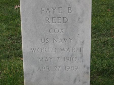 REED, FAYE   B. - Lee County, Iowa   FAYE   B. REED