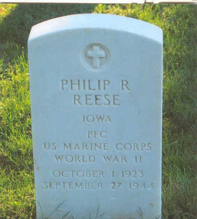 REESE, PHILIP RAYMOND - Lee County, Iowa | PHILIP RAYMOND REESE
