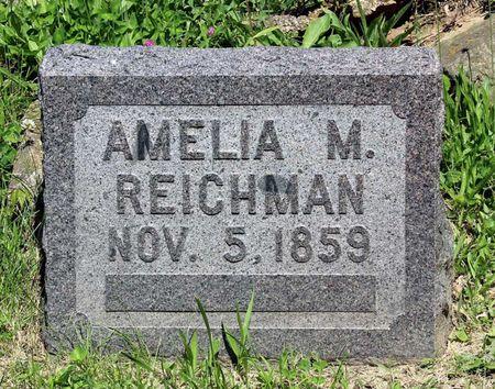 REICHMAN, AMELIA M. - Lee County, Iowa | AMELIA M. REICHMAN