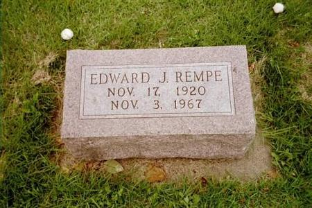 REMPE, EDWARD JOHN - Lee County, Iowa | EDWARD JOHN REMPE