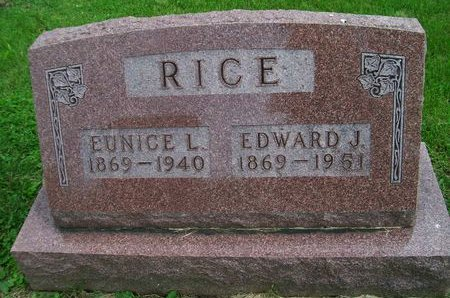 RICE, EDWARD J. - Lee County, Iowa   EDWARD J. RICE
