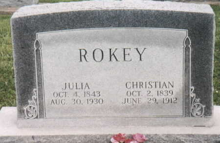 ROKEY, JULIA - Lee County, Iowa | JULIA ROKEY