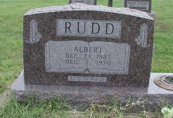 RUDD, ALBERT - Lee County, Iowa | ALBERT RUDD