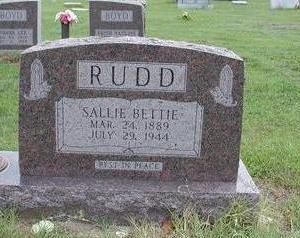 RANDALL RUDD, SALLIE - Lee County, Iowa | SALLIE RANDALL RUDD