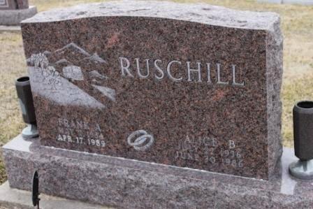 RUSCHILL, ALICE B. - Lee County, Iowa | ALICE B. RUSCHILL