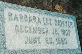 SAWYER, BARBARA - Lee County, Iowa | BARBARA SAWYER