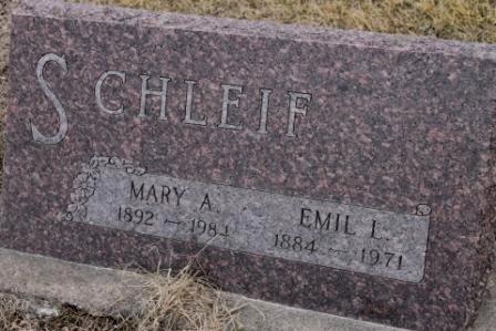 SCHLEIF, EMIL L. - Lee County, Iowa | EMIL L. SCHLEIF