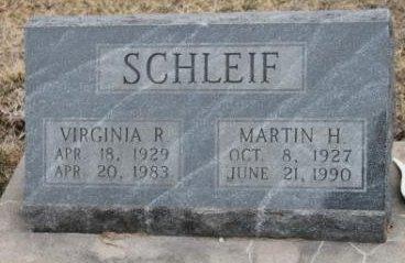 SCHLEIF, MARTIN H. - Lee County, Iowa | MARTIN H. SCHLEIF