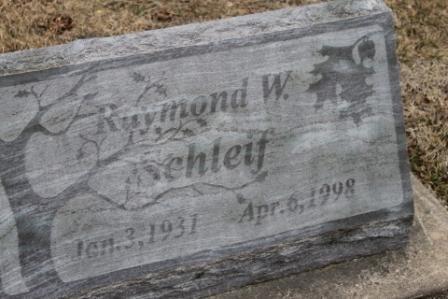 SCHLEIF, RAYMOND W. - Lee County, Iowa | RAYMOND W. SCHLEIF