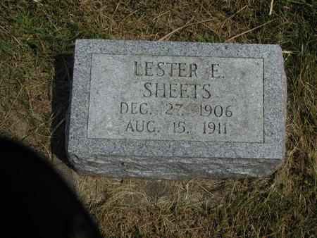 SHEETS, LESTER - Lee County, Iowa | LESTER SHEETS