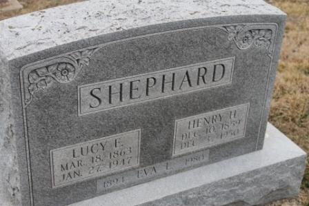 SHEPHARD, LUCY E. - Lee County, Iowa | LUCY E. SHEPHARD